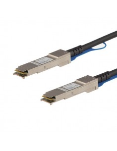 StarTech.com QSFPH40GAC10 verkkokaapeli Musta 10 m Startech QSFPH40GAC10 - 1