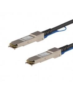StarTech.com QSFPH40GCU5M verkkokaapeli Musta 5 m Startech QSFPH40GCU5M - 1