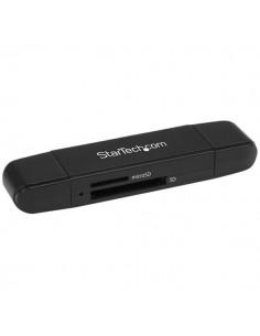 StarTech.com USB 3.0-minneskortläsare/skrivare för SD- och microSD-kort - USB-C USB-A Startech SDMSDRWU3AC - 1