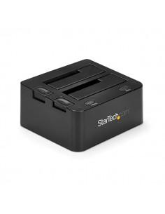 StarTech.com SDOCK2U33 tallennusaseman telakointiasema USB 3.2 Gen 1 (3.1 1) Type-B Musta Startech SDOCK2U33 - 1