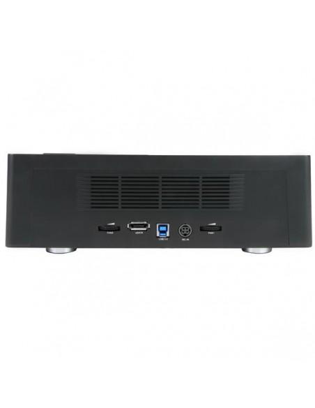 StarTech.com SDOCK4U33E tallennusaseman telakointiasema USB 3.2 Gen 1 (3.1 1) Type-B + eSATA Musta Startech SDOCK4U33E - 2
