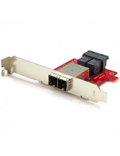 StarTech.com Mini-SAS-adapter - dubbel SFF-8643 till SFF-8644 med fästen i hel- och lågprofil 12 Gbps Startech SFF86448PLT2 - 1
