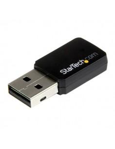 StarTech.com USB 2.0 AC600 trådlös-AC-nätverksadapter med mini dual-band - 1T1R 802.11ac WiFi-adapter Startech USB433WACDB - 1