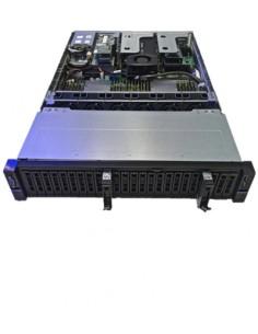 Western Digital SVR2U24 NVMe Lagringsserver Rack (2U) Nätverksansluten (Ethernet) Svart 6140 Hgst 1ES0415 - 1
