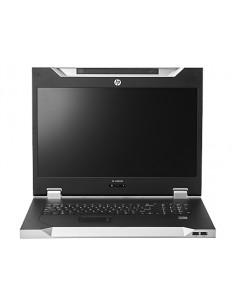 """Hewlett Packard Enterprise LCD8500 1U INTL Rackmount Console Kit rack 47 cm (18.5"""") 1600 x 1200 pixlar Silver Hp AF644A - 1"""