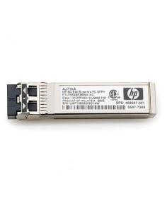 Hewlett Packard Enterprise 8Gb Shortwave B-series Fibre Channel 1 Pack SFP+ Transceiver transceiver-moduler för nätverk 8000 Hp