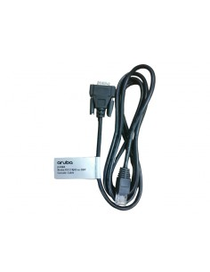 Hewlett Packard Enterprise JL448A cable gender changer RJ-45 DB9 Svart Hp JL448A - 1