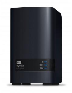 Western Digital My Cloud EX2 Ultra NAS Työpöytä Ethernet LAN Musta Armada 385 Western Digital WDBVBZ0040JCH-EESN - 1