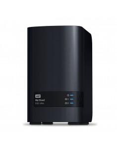 Western Digital My Cloud EX2 Ultra NAS Nätverksansluten (Ethernet) Svart Armada 385 Western Digital WDBVBZ0280JCH-EESN - 1