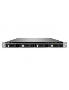 QNAP 1U 4 BAY 12-CH HDMI RPS Tallennuspalvelin Teline ( ) Ethernet LAN Musta Qnap VS-4112U-RP-PRO+-EU - 1