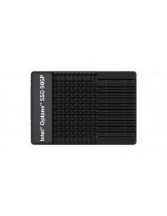 Intel Optane SSDPE21D960GAX1 SSD-hårddisk U.2 960 GB PCI Express 3.0 3D XPoint NVMe Intel SSDPE21D960GAX1 - 1