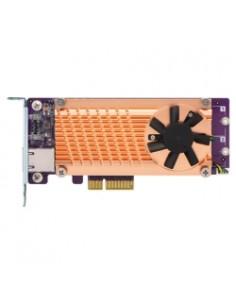 QNAP QM2-2P10G1TA nätverkskort/adapters Intern M.2, RJ-45 Qnap QM2-2P10G1TA - 1