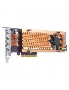 QNAP QM2-4P-384 liitäntäkortti/-sovitin Sisäinen PCIe Qnap QM2-4P-384 - 1