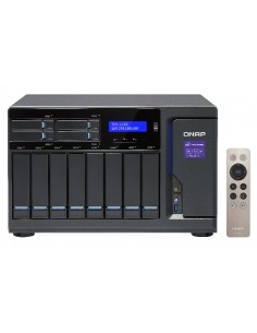 QNAP TVS-1282 NAS Tower Ethernet LAN Black i7-6700 Qnap TVS-1282-I7-64G-450W - 1