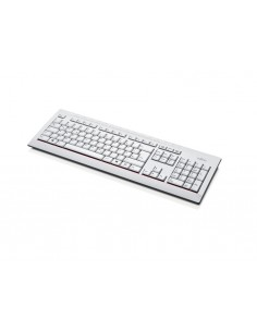 Fujitsu KB521 tangentbord USB Dansk Grå Fujitsu Technology Solutions S26381-K521-L150 - 1