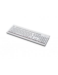 Fujitsu KB521 keyboard USB QWERTY Finnish, Swedish Grey Fujitsu Technology Solutions S26381-K521-L155 - 1