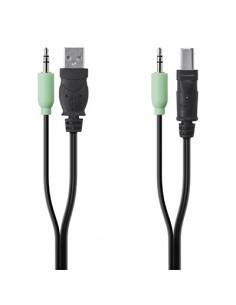 Linksys F1D9022b10 KVM cable Black, Green 3 m Linksys F1D9022B10 - 1