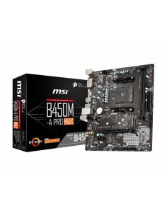 MSI B450M PRO-VDH Max AMD B450 Socket AM4 micro ATX Msi B450M PRO-VDH MAX - 1