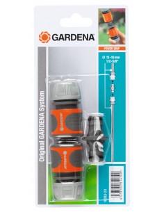 Gardena 18283-20 vattenslangstillbehör Slanganslutning Grå, Orange, Silver 1 styck Gardena 18283-20 - 1