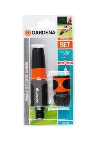 Gardena 18288-20 vesipistooli ja -suutin Puutarhan kastelusuutin Beige, Harmaa, Oranssi Gardena 18288-20 - 1