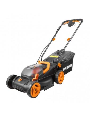 WORX WG779E gräsklippare Handgräsklippare Batteri Svart, Orange Worx WG779E - 1