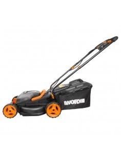 WORX WG779E.1 Walk behind lawn mower Battery Black, Orange Worx WG779E.1 - 1