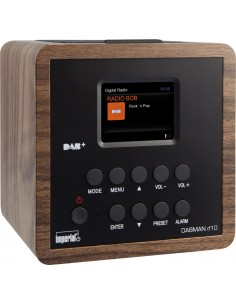 Telestar DABMAN d10 Personal Analog Black, Wood Imperial 22-270-00 - 1