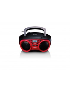 Lenco SDC-501 Portable CD player Red Lenco SCD-501RED/BLACK - 1