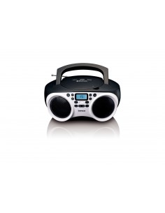 Lenco SDC-501 Portable CD player Black, White Lenco SCD-501WHITE/BLA - 1