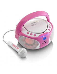 Lenco SCD-650 pink Bärbar Rosa Lenco SCD-650P - 1