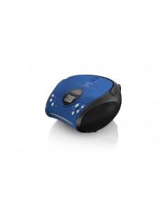Lenco SCD-24 Digital Svart, Blå Lenco SCD24BL/SW - 1