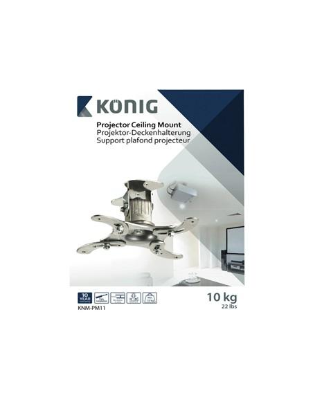 König KNM-PM11 projektorin kiinnike Katto/seinä Hopea König KNM-PM11 - 4