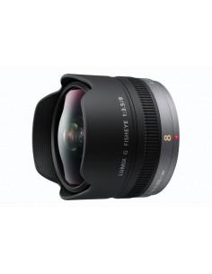 Panasonic H-F008E kameran objektiivi Musta Panasonic H-F008E - 1