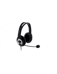 Microsoft LifeChat LX-3000 Headset Head-band Black Microsoft JUG-00014 - 1
