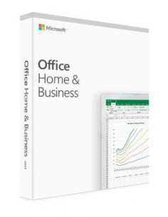 Microsoft Office 2019 Home & Business Täysi 1 lisenssi(t) Englanti Microsoft T5D-03216 - 1