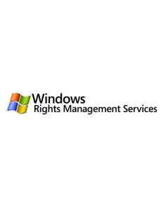 Microsoft Windows Rights MGMT Services CAL 1 license(s) English Microsoft T98-00579 - 1
