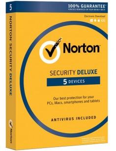 NortonLifeLock Norton Security Deluxe 3.0 Täysi lisenssi 1 lisenssi(t) vuosi/vuosia Symantec 21357490 - 1