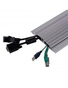Dataflex 31.452 kaapelisuojain Lattiakaapelin suoja Hopea Dataflex 31.452 - 1
