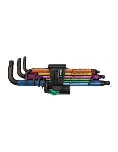 Wera 950 Spkl9 Hex-plus Hex Key Set Wera 05073593001 - 1