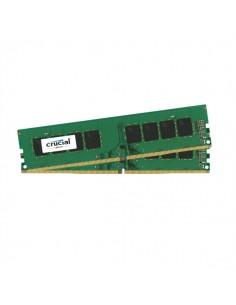 Crucial 16GB Kit (8GBx2) DDR4 muistimoduuli 2400 MHz Crucial Technology CT2K8G4DFS824A - 1