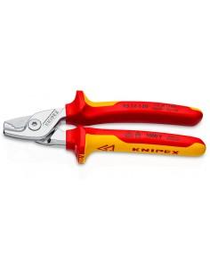 Knipex Kabelschere Mit Stufen- Schnitt Isoliert Knipex 95 16 160 - 1