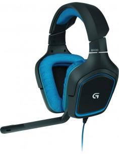 Logitech G G430 Kuulokkeet Pääpanta Musta, Sininen Logitech 981-000537 - 1