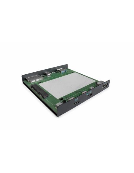 i-tec C31HDD4KDOCKPD kannettavien tietokoneiden telakka ja porttitoistin Langallinen USB 3.2 Gen 1 (3.1 1) Type-C Musta I-tec Do
