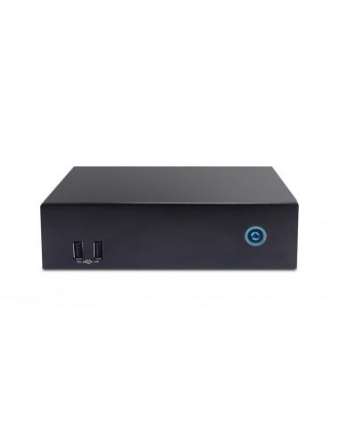 Aopen DE6340 digitaalinen mediasoitin 4K Ultra HD 3840 x 2160 pikseliä Musta Aopen 91.DEL00.E0A0 - 1