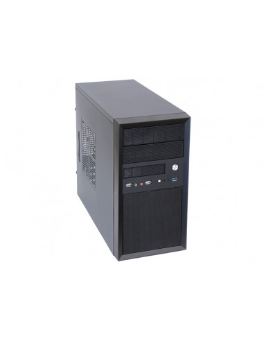 Chieftec CT-01B-350GPB tietokonekotelo Mini Tower Musta 350 W Chieftec CT-01B-350GPB - 1