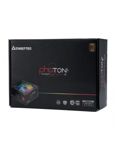 Chieftec Photon virtalähdeyksikkö 650 W 24-pin ATX PS/2 Musta Chieftec CTG-650C-RGB - 8