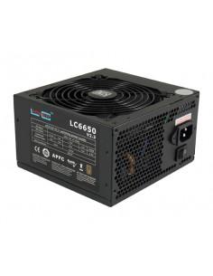 LC-Power LC6650 V2.3 virtalähdeyksikkö 650 W ATX Musta Lc Power LC6650 V2.3 - 1