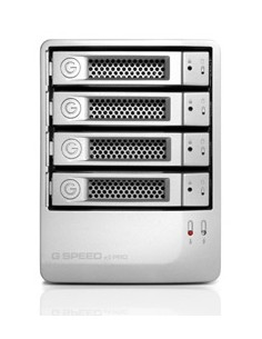 G-Technology G-SPEED eS Pro levyjärjestelmä 8 TB Työpöytä Hopea G-technology 0G01874 - 1
