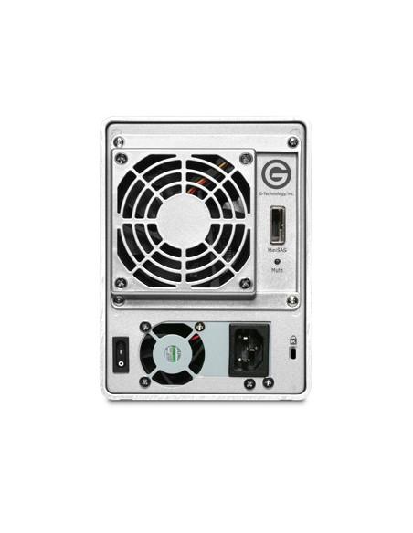 G-Technology G-Speed eS Pro levyjärjestelmä 16 TB Työpöytä Hopea G-technology 0G02324 - 3