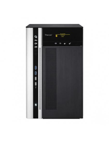Thecus N8850 NAS- ja tallennuspalvelimet i3-2120 Tower Musta Thecus N8850 - 2